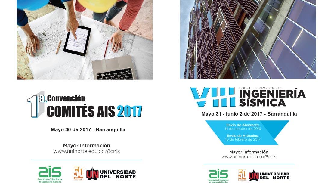 1a. Convención Comités AIS 2017 y Congreso Nacional de Ingeniería Sísmica