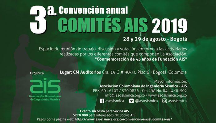 TERCERA CONVENCIÓN ANUAL DE COMITÉS