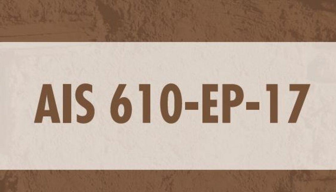 EVENTO DE LANZAMIENTO AIS 610-EP-17